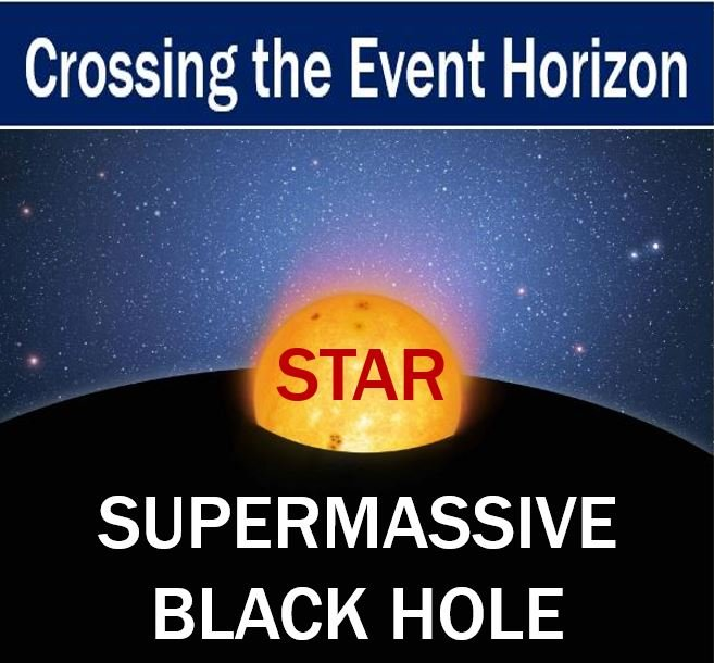 Supermassive black holes pull in whole stars