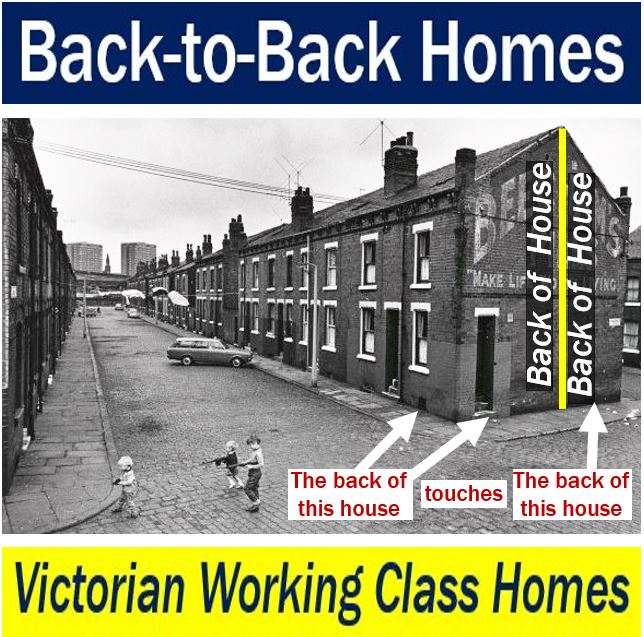Victorian back-to-back homes