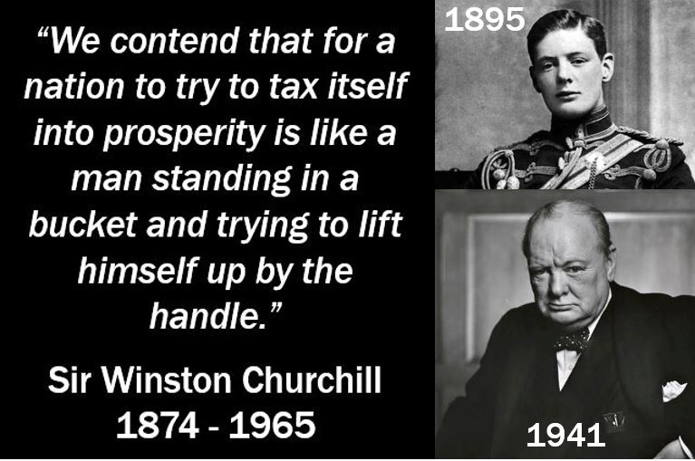 Winston Churchill - Tax Quote