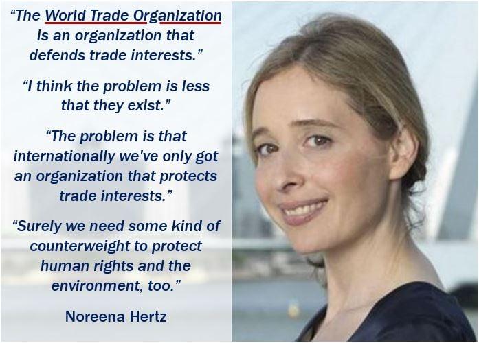 World Trade Organization quote - Norrena Hertz