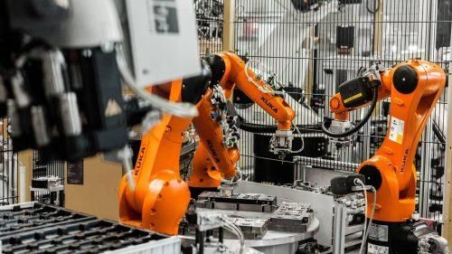 industrial robots - credit kuka