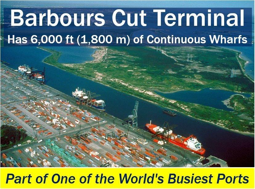 Barbours Cut Terminal wharf