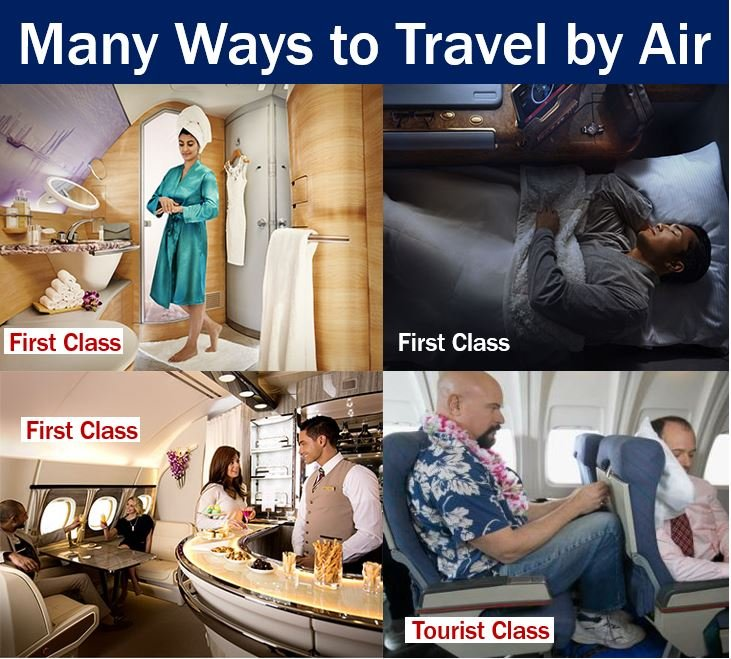 From first class to tourist class