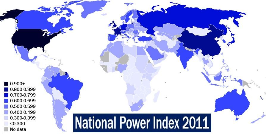 Most Powerful Countries In The World Market Business News - Most powerful countries of world