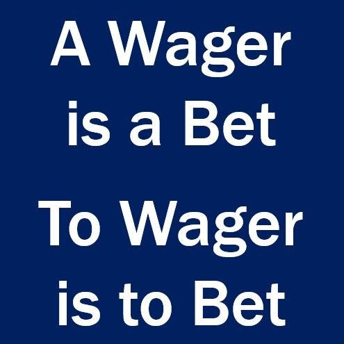 Wager meaning