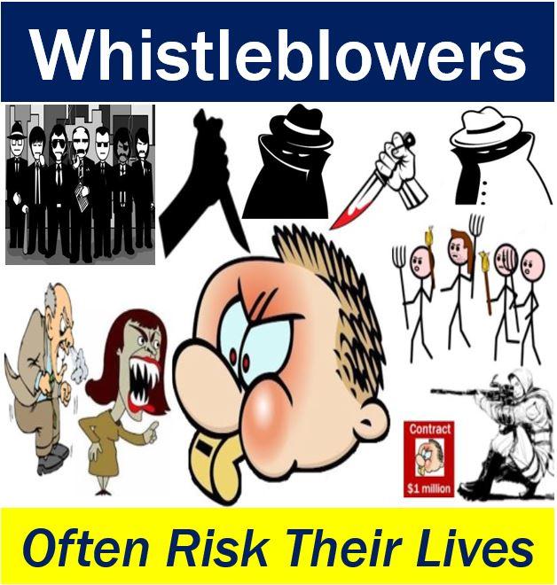 Whistleblower - risky