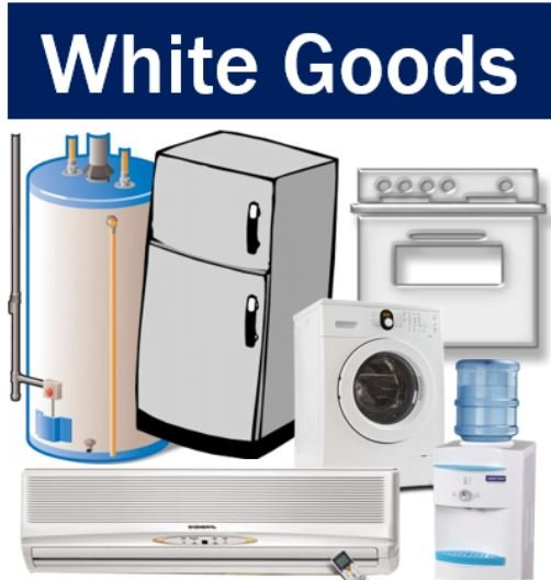 marketing and white goods industry Executive summary in this key note market report, key note examines the domestic white goods industry in the uk the market is divided into three broad categories: home laundry appliances and dishwashers cooking appliances and cooling appliances.