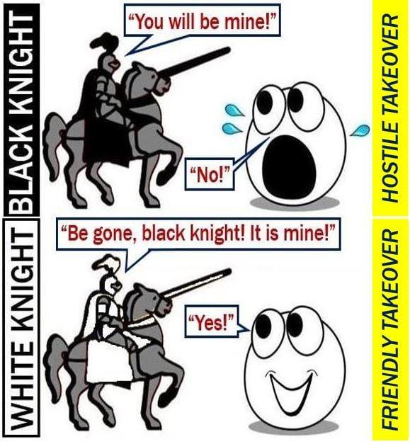 White Knight friendly takeover