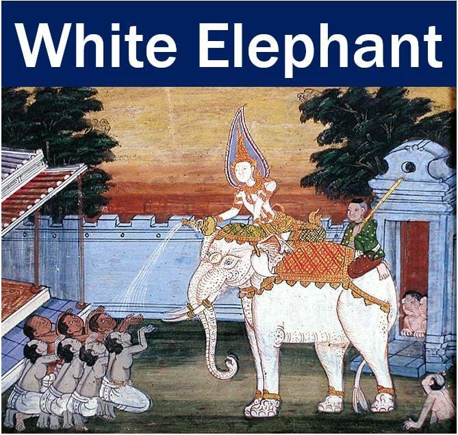 White elephant - Siam