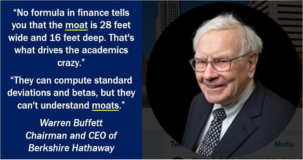 Wide Economic Moat - Warren Buffett quote