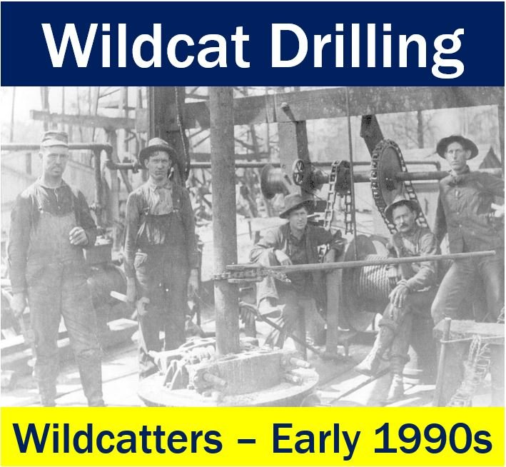 Wildcat Drilling - team of wildcatters