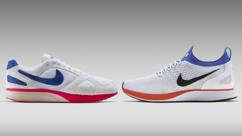 restructuring - Nike sneakers