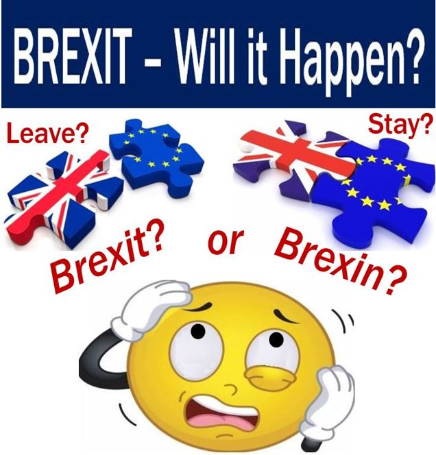 Brexit might not happen image