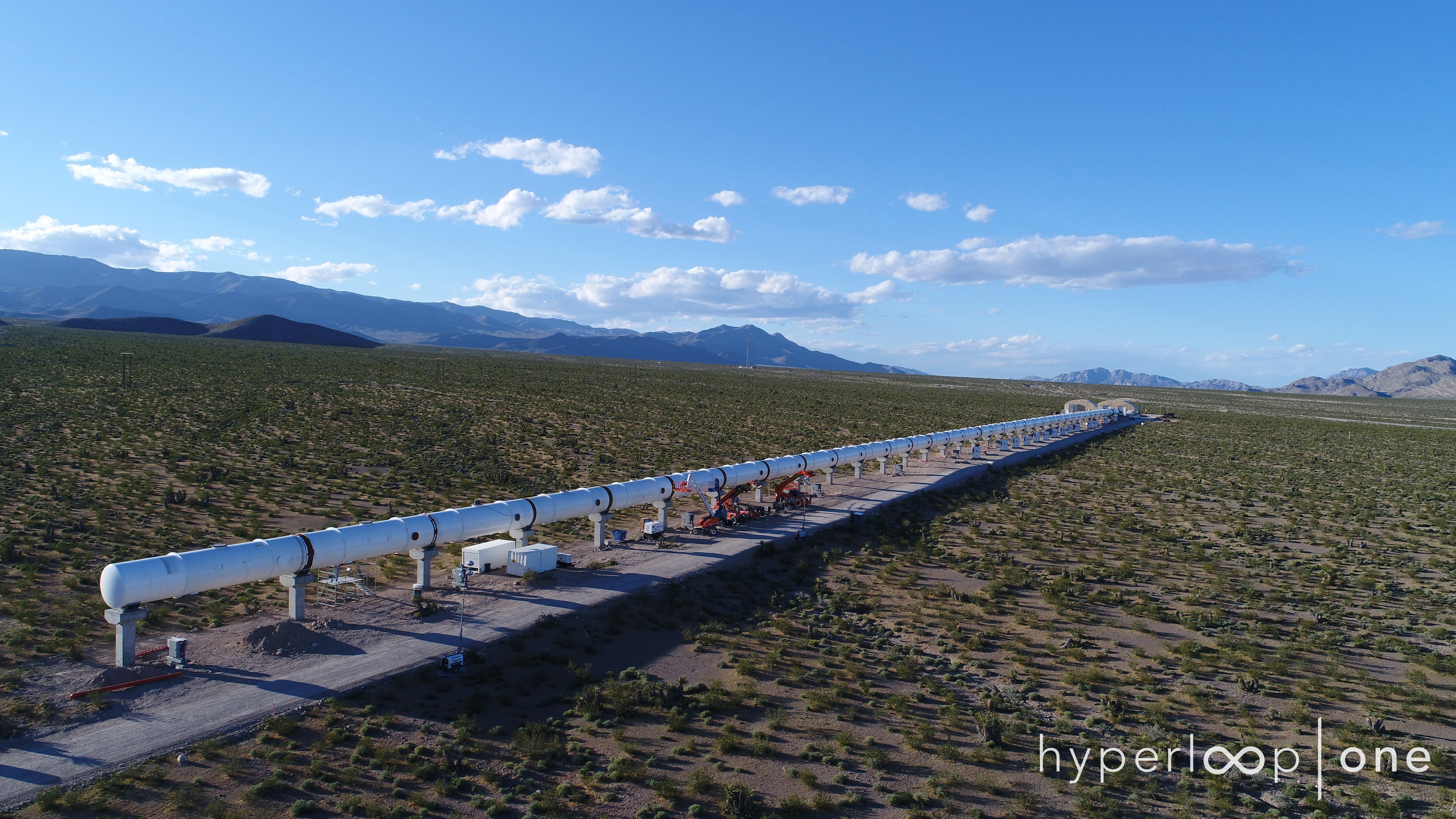 Hyperloop One tests its full-scale system for the first time