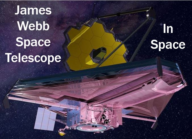 James Webb Space Telescope - Artist impression