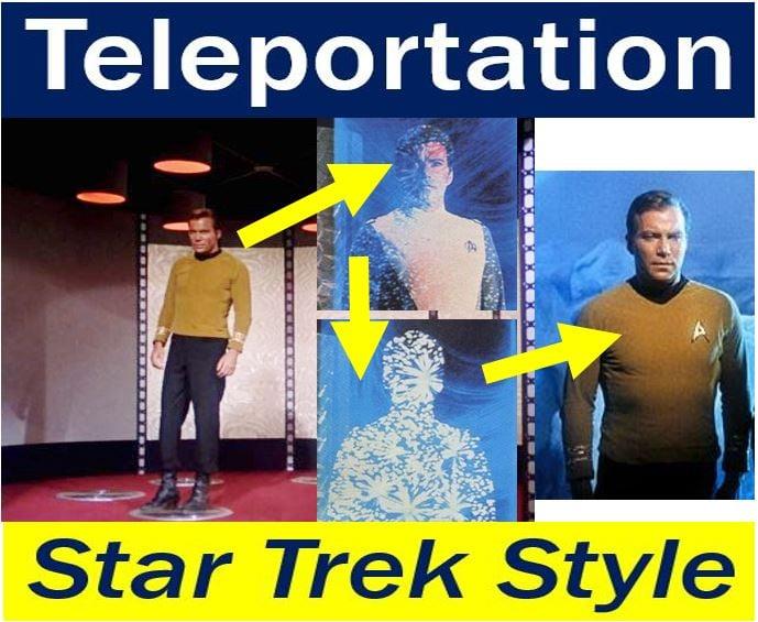 Teleportation Star Trek Style