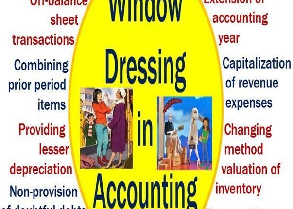 Window dressing - accounting