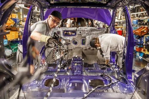 UK car production Nissan GB