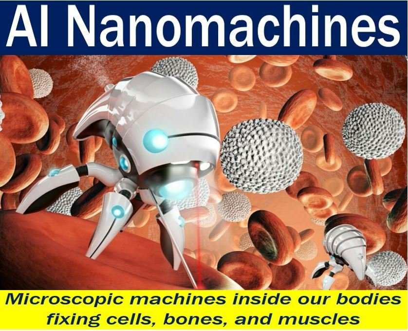 AI Nanomachines - image with explanation and example