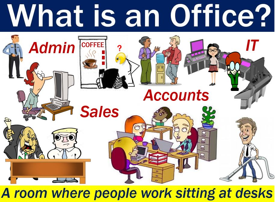 Office - image with explanation and examples
