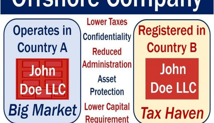 Offshore company - definition and example