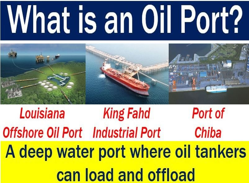 Oil port - definition and examples