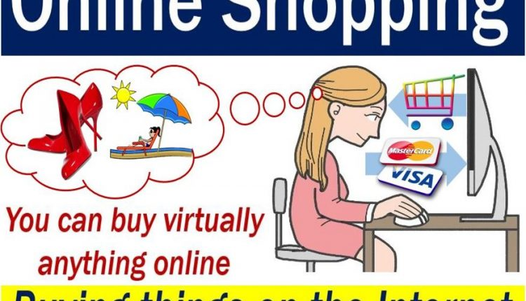 Online Shopping - image with explanation and example