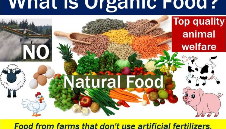 Organic food - image with explanation and examples