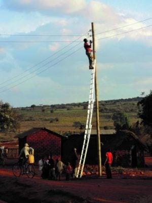 Installing minigrids in Tanzania