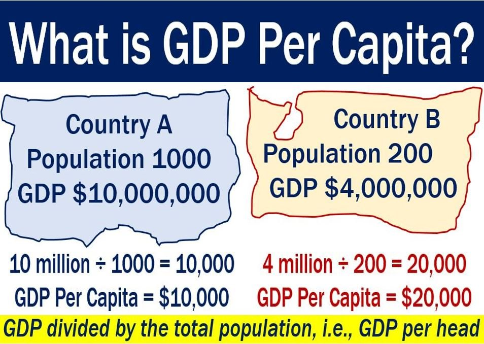 GDP Per Capita - definition and two examples