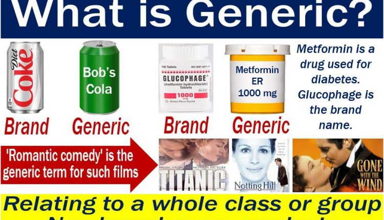 Generic - definition and examples