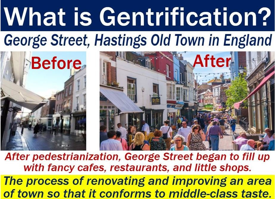 Gentrification - definition and an example