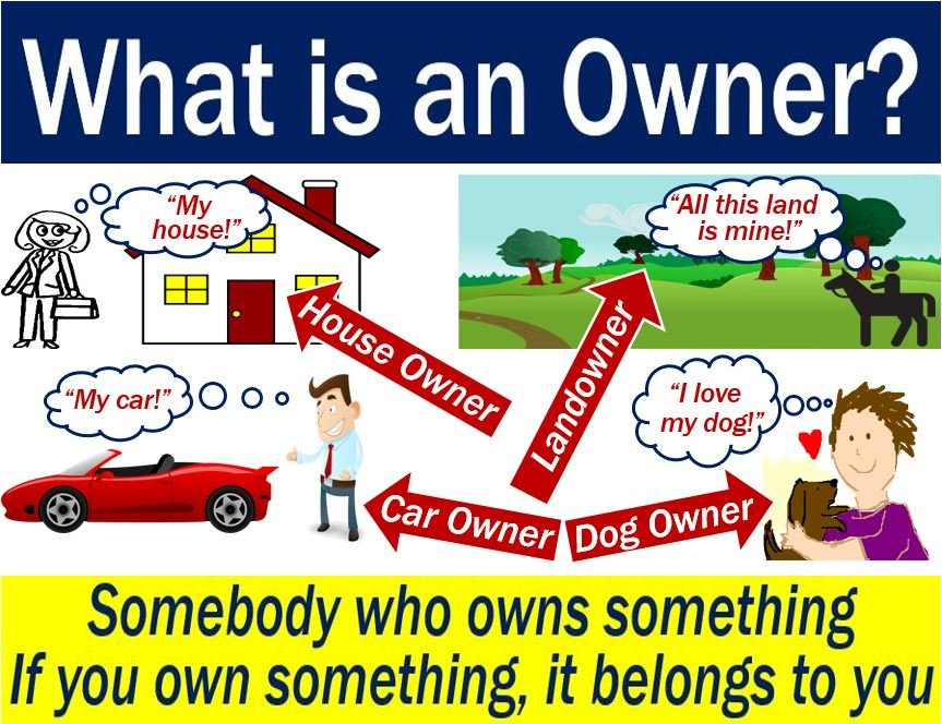 Owner - explanation of meaning with examples
