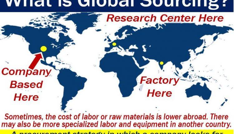 Global Sourcing - definition and illustration