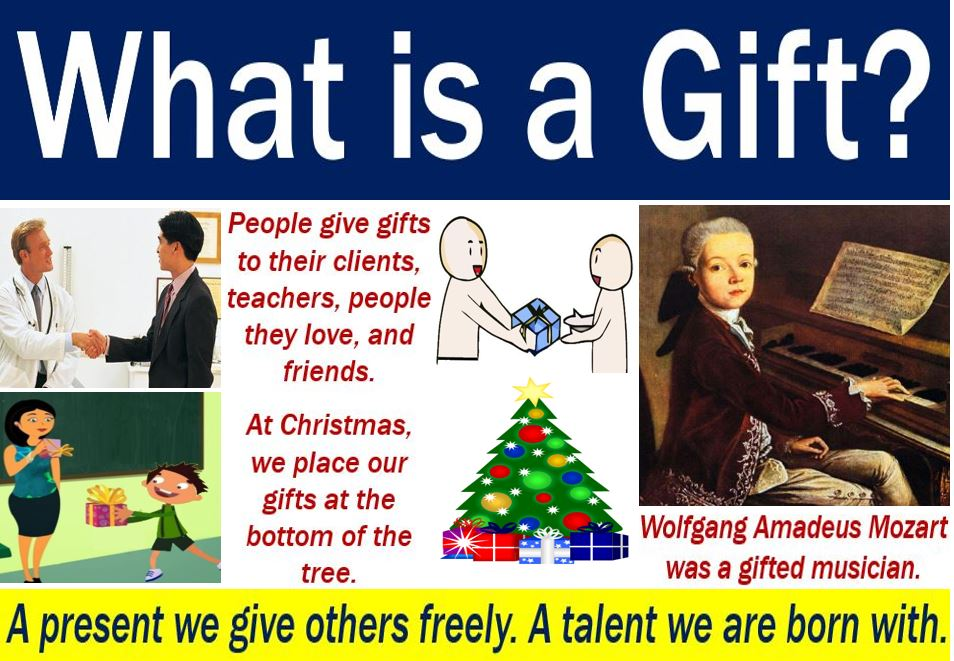 What is a gift - definition and some examples