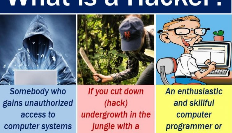Hacker - definition and examples