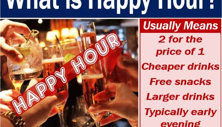 Happy Hour - definition and image
