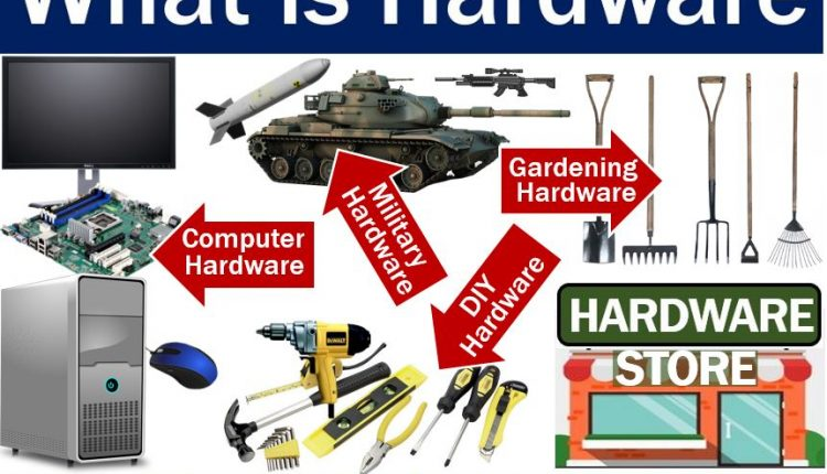 Hardware - definition and examples