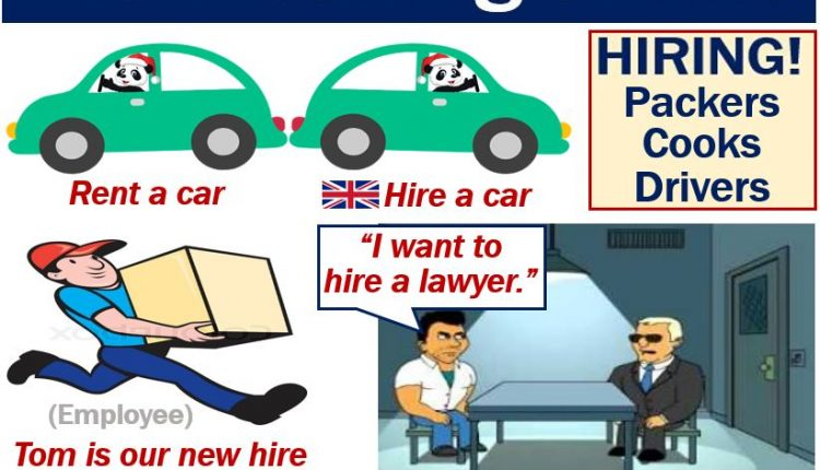 Hire - definition and examples