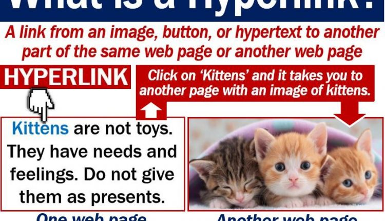 Hyperlink definition and example