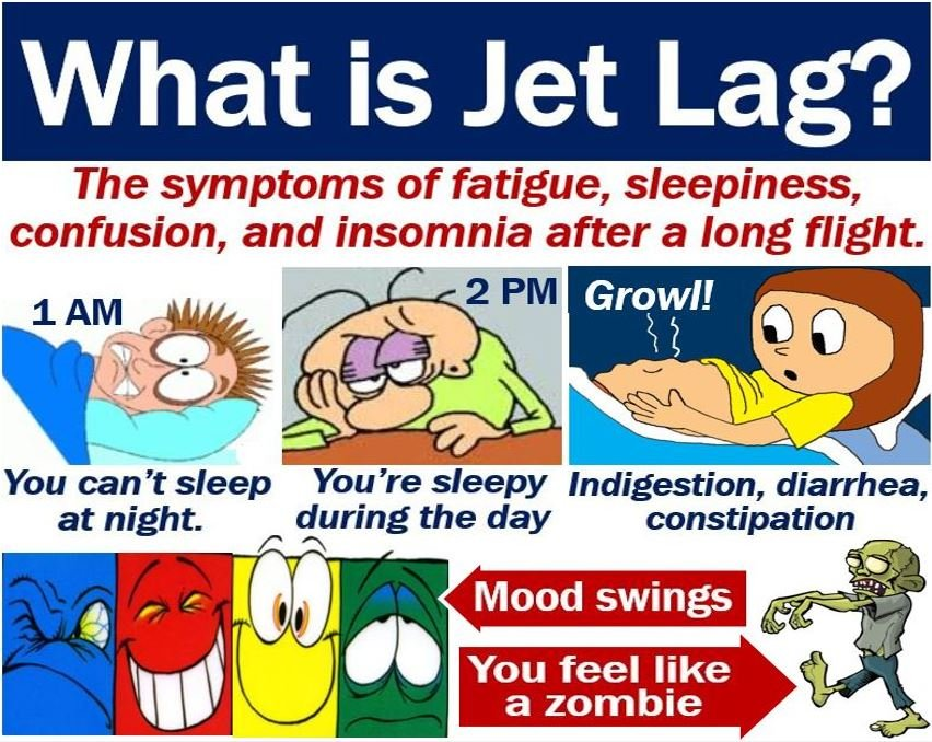 jet lag meaning