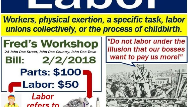 Labor definition
