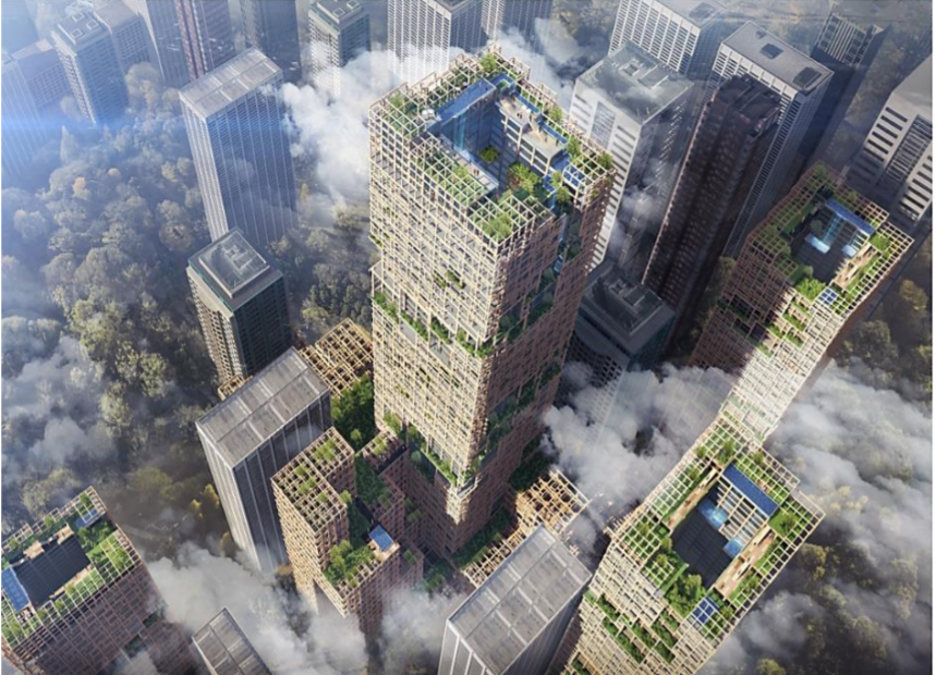 The World's Tallest Wooden Skyscraper Is Coming to Japan