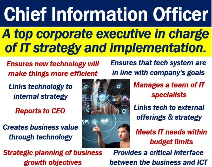 CIO or Chief Information Officer