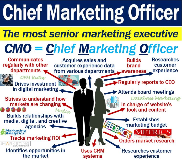 Chief marketing officer cmo definition and examples - Chief marketing officer job description ...