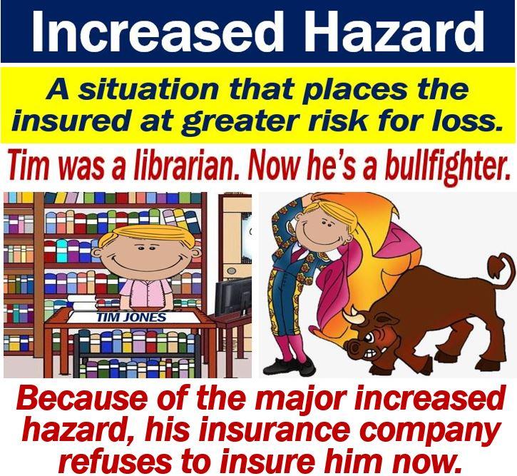 Increased hazard
