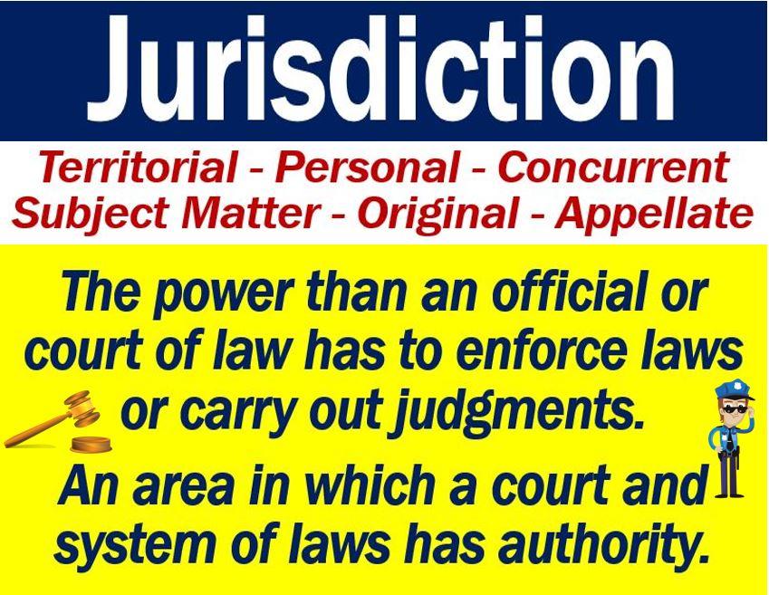 Jurisdiction definition