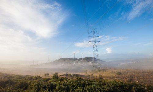 Portugal pylons - credit REN