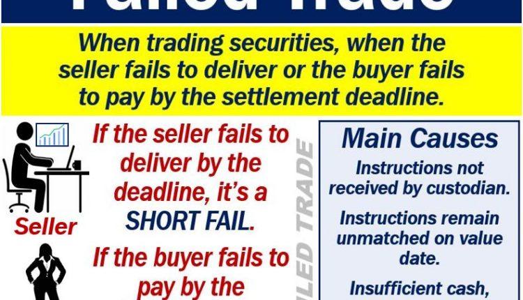 Failed trade