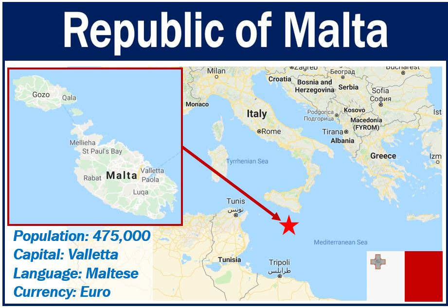 Map of Malta - Maltese Economy article